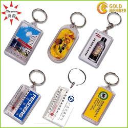 Barato Arylic plástico personalizada Porta-chaves