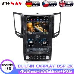 schermo di 128GB Tesla per il riproduttore video Android di percorso di GPS dell'autoradio di lettore DVD di multimedia dell'automobile di Infiniti Fx25/Fx35/Fx37 Qx70