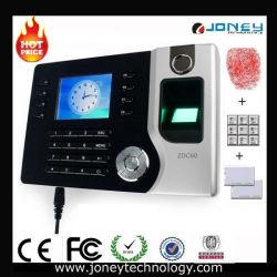 Zdc60t la RFID et Fingerprint Reader temps machine de présence