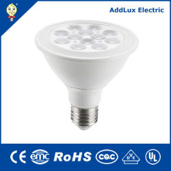 Saso blanc chaud Ce UL 6W 9W Lampe à réflecteur LED COB