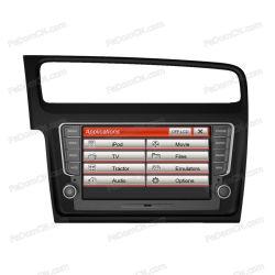 Système de navigation GPS DVD de voiture pour VW Golf 7 Auto Radio stéréo audio vidéo iPod USB SD Bluetooth (J8065VG)