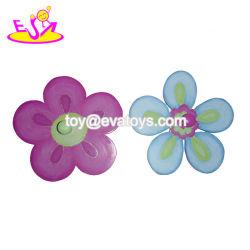 Forme de fleur en gros un mur en bois cintre pour les vêtements et les serviettes W09b085