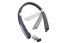 Conception pliable Sport Stéréo écouteur sans fil Bluetooth 5.0 Tour de cou