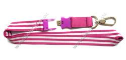 USB バックルキーチェーンストラップメモリホルダー携帯電話用ストラップ