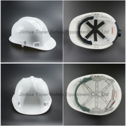 Material de Construcción Casco de Motocicleta Casco de Seguridad Sombrero de HDPE (SH502)