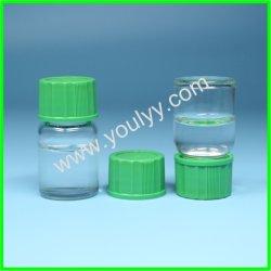 As tampas de plástico pequeno