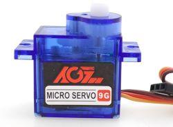 Agfrc C9dlszの電圧4.8-6.0V固定翼RCの飛行機のためのアナログのサーボ低価格9gマイクロプラスチックギヤServo