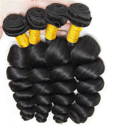 熱い販売のブラジルのRemyの毛100の人間の毛髪の織り方、ブラジル水波のバージンの人間の毛髪の束または編むこと、Sangitaの卸し売り毛