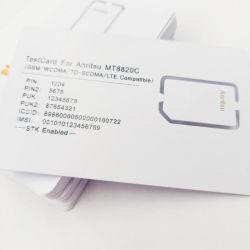 Venda por grosso de 3G/4G GSM / WCDMA / TD-SCDMA / teste LTE Cartão SIM Anritsu MT8820c Cartão de teste (2FF/3FF slot)