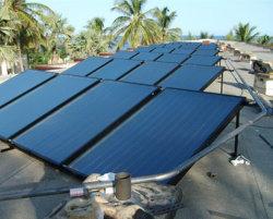 Tela plana de alta eficiência colector solar térmico