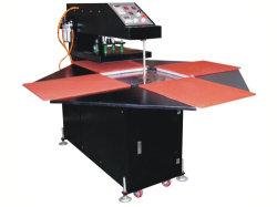 Quatre stations pneumatique des vêtements de la chaleur d'impression Appuyez sur la machine