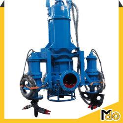 Zentrifugale elektrische hydraulische versenkbare Schlamm-Pumpen-Kies-Pumpen-Sandpumpe-Spülpumpe für den Sand, der mit Quirl-Scherblöcken ausbaggert