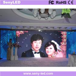 3mm HD Stadium video bekanntmachender LED-Bildschirm für Hochzeits-Salon