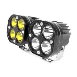 Indicatore luminoso di nebbia bianco luminoso eccellente dell'indicatore luminoso LED del lavoro del riflettore dell'automobile LED di colore giallo 40W per l'automobile della jeep
