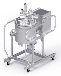 20 galones de acero inoxidable de grado alimentario y tanque de almacenamiento de agua industrial