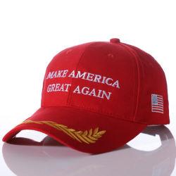 Custom Embroiery EUA campanha eleitoral presidencial Boné Oferta Promocional