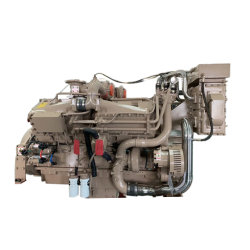 Cummins refrigerado por agua del motor de barco de motor marino (NTA855 Kta19 Kta38)