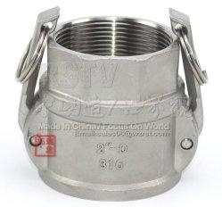 API Edelstahl SUS 304 D-Steckverbinder, Quzik-Kupplung