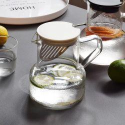 Hoher kaltes Wassertrinkender Carafe des Borosilicat-Glas-750ml mit Griff