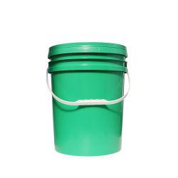 Le style américain de 5 gallons de peinture industrielle seau en plastique pour le stockage/seau seau de peinture