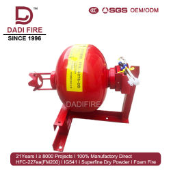 Systeem van het Brandblusapparaat van het Poeder van de Opbrengst van de Fabriek van Guangdong 8kg het Droge