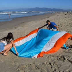Resistente al agua de la playa de arena La acampada libre Mateo Mateo