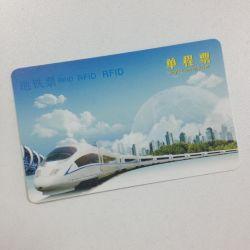 13.56MHz CIPURSE 4move 기차표를 위한 서류상 공백 RFID 카드