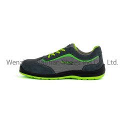 倍密度PU/PUおよび革甲革が付いている作業方法安全靴