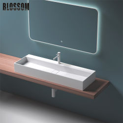 Ванная комната верхней плоской промойте полимера камня ручной работы радиатора процессора 1200