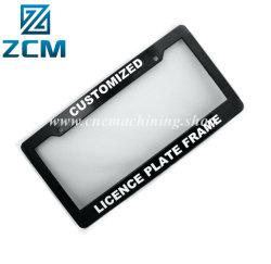 CNC di alta qualità del fornitore di Shenzhen che macina/precisione di alluminio di giro che lavora il blocco per grafici alla macchina su ordinazione della targa di immatricolazione del motociclo