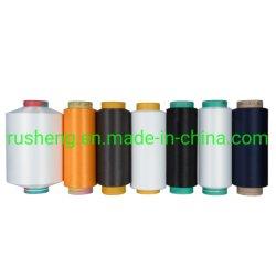 La Chine usine grs+Oeko tex Fils de polyester recyclé certifié pour le tricotage de tissage DTY FDY/POY//ity/SPH/T300/T400