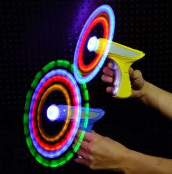 Magic вращается мигает ветряными мельницами пистолет с электроприводом