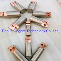 Barra de cobre revestido de titânio / Indicador de folheados ou chapeados de barra de cobre para/Electroquímica Eletrodeposição/Eletrólises /Indústria Metalúrgica molhado
