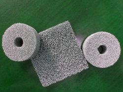 Material del filtro, espuma de material de amortiguación de aleación de aluminio
