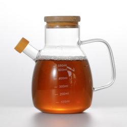 De Pot van de Olijfolie van het Glas van Borosilicate van de Pot van de Olie van het Glas van de Pot van de Olie van het Keukengerei van de Fles van de Olie van de keuken