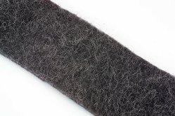Migliore tessuto grigio del materiale di riempimento delle lane dell'acciaio inossidabile di colore