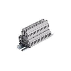 Утвержденном Ce 1-10 полюсов серии клеммная колодка разъема 32A 500 В 0.2-4 мм2 двойной стандарт DIN клеммы разъема блока цилиндров