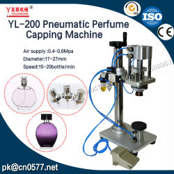La macchina di coperchiamento della bottiglia pneumatica per paglia spruzza (YL-200)