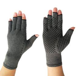 圧縮Fingerless関節炎の手袋をタイプする磁気療法のコンピュータ