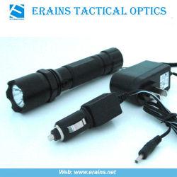 CREE Q3 240 Lumens LED torche lampe de poche rechargeable/à la fois avec le mur et chargeurs de voiture Gift Set (ES-OA-TF02)