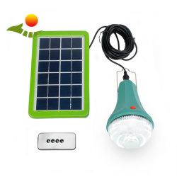 Kit da Luz Solar 15W Painéis Solares 3W lâmpada LED Lanterna Recarregável & Flashlamp
