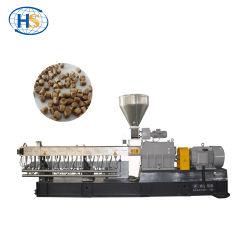 Chaîne de production jumelle d'extrusion de granules de la vis WPC