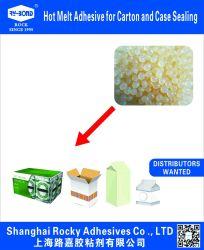 Fast le carton d'étanchéité adhésif thermofusible de clôture pour l'emballage en carton ondulé