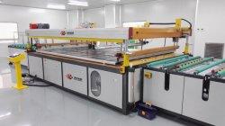 China Fornecedor horizontal do aparelho automático/Solar/Prédio de vidro da tela de Seda Impressora com aprovado pela CE