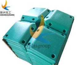UHMWPE parachoques de muelle de carga de la bahía de carga de la almohadilla de la placa de remolque