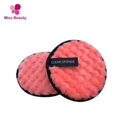 Het opnieuw te gebruiken Gezicht die van de Stootkussens van het Vlekkenmiddel van de Make-up de Magische Samenstelling schoonmaken die van de Handdoeken van de Rondes van de Doek Microfiber mitt-Make-up verwijderen