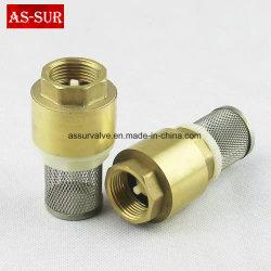 Soupape de contrôle du ressort en laiton avec filtre, Non-Ruturn soupape comme-C005