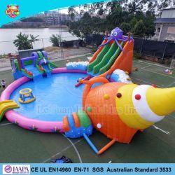 O Parque Aquático insufláveis gigantes de qualidade de jogo com o padrão da Austrália