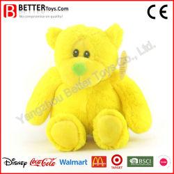 Certificación CE Ccpsa fabricante chino de peluche personalizado amarillo osito de peluche juguete