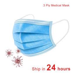 3 plis jetables pour masque de haute qualité